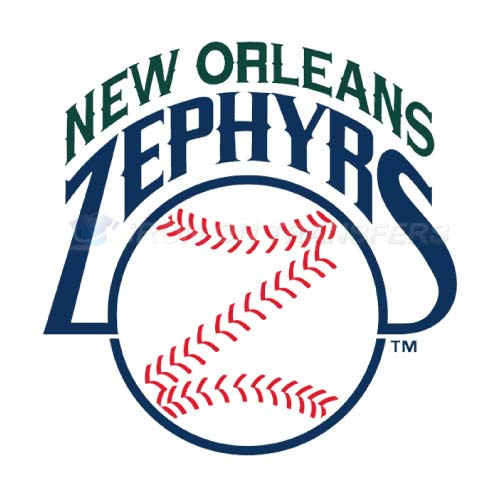 New Orleans Zephyrs Iron-on Stickers (Heat Transfers)NO.8189
