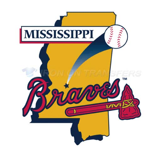 Mississippi Braves Iron-on Stickers (Heat Transfers)NO.7733