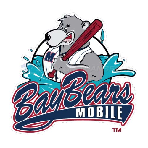 Mobile BayBears Iron-on Stickers (Heat Transfers)NO.7736