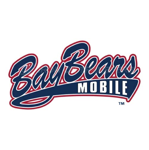Mobile BayBears Iron-on Stickers (Heat Transfers)NO.7737