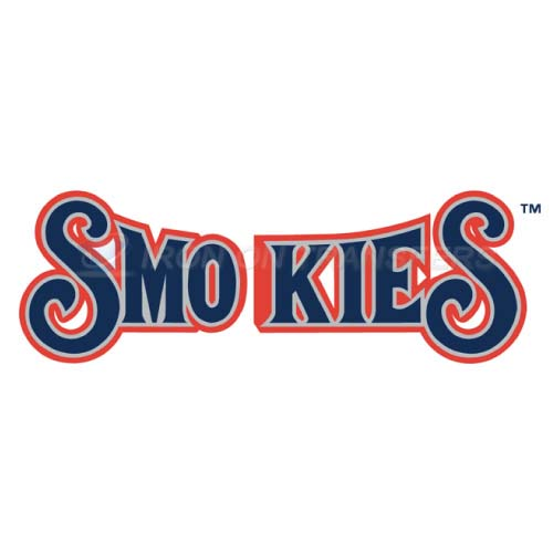 Tennessee Smokies Iron-on Stickers (Heat Transfers)NO.7751