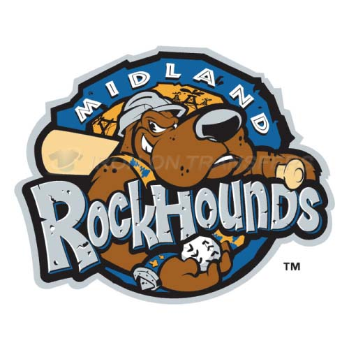 Midland RockHounds Iron-on Stickers (Heat Transfers)NO.7769