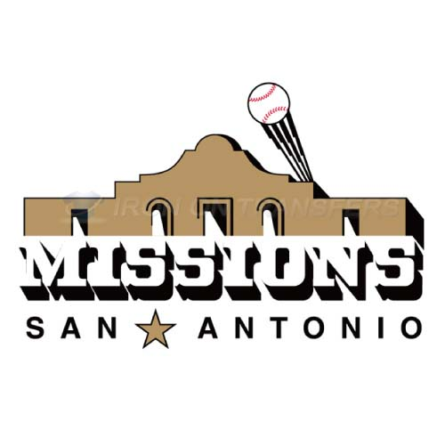 San Antonio Missions Iron-on Stickers (Heat Transfers)NO.7778