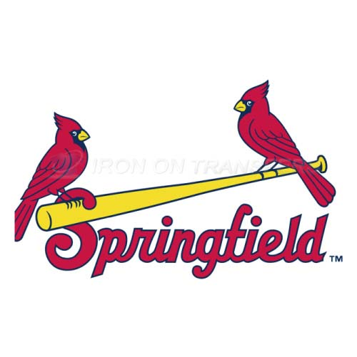 Springfield Cardinals Iron-on Stickers (Heat Transfers)NO.7781