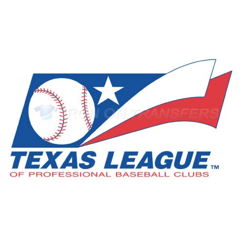 Texas League Iron-on Stickers (Heat Transfers)NO.7782