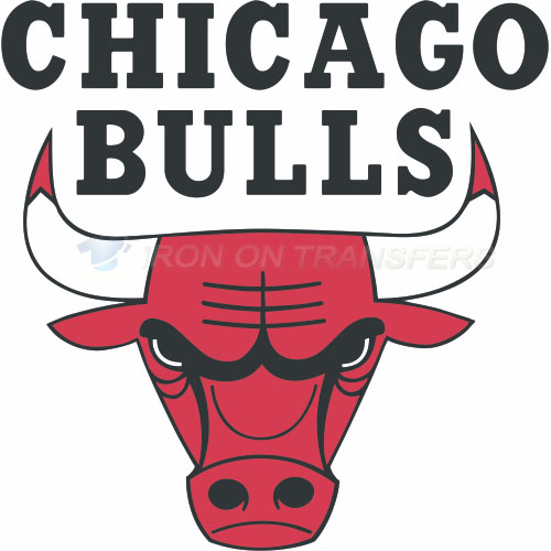 Chicago Bulls Iron-on Stickers (Heat Transfers)NO.933