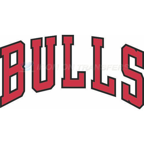 Chicago Bulls Iron-on Stickers (Heat Transfers)NO.938