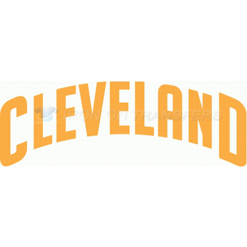 Cleveland Cavaliers Iron-on Stickers (Heat Transfers)NO.942