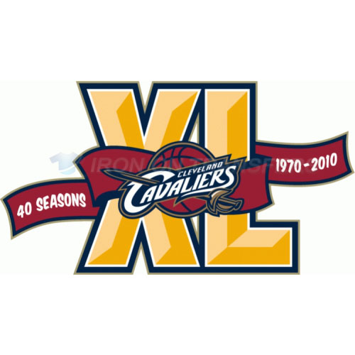 Cleveland Cavaliers Iron-on Stickers (Heat Transfers)NO.950
