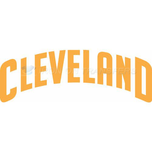 Cleveland Cavaliers Iron-on Stickers (Heat Transfers)NO.960
