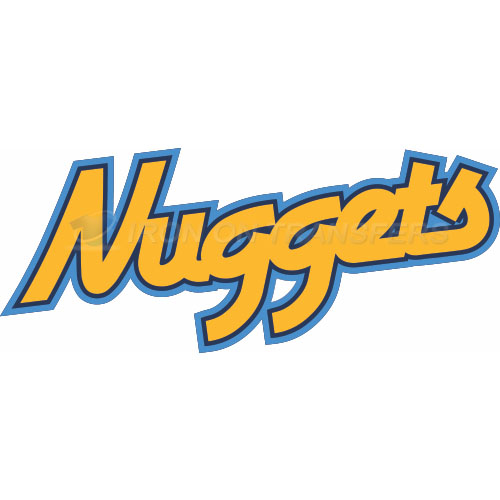 Denver Nuggets Iron-on Stickers (Heat Transfers)NO.978
