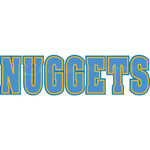 Denver Nuggets Iron-on Stickers (Heat Transfers)NO.979