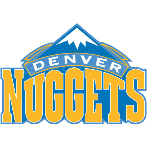Denver Nuggets Iron-on Stickers (Heat Transfers)NO.980