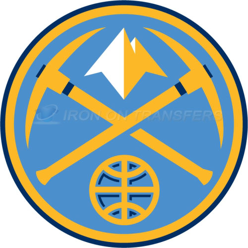 Denver Nuggets Iron-on Stickers (Heat Transfers)NO.984