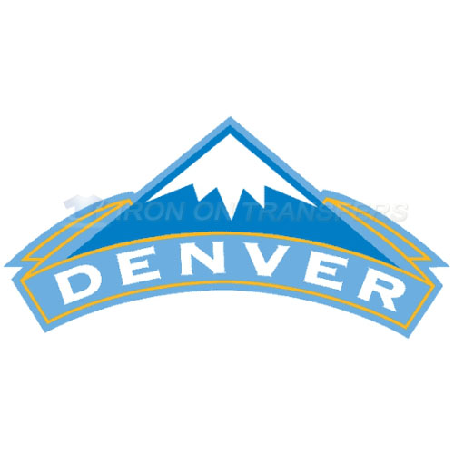 Denver Nuggets Iron-on Stickers (Heat Transfers)NO.985