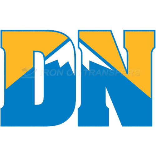 Denver Nuggets Iron-on Stickers (Heat Transfers)NO.986