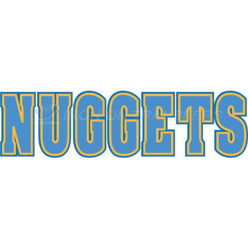 Denver Nuggets Iron-on Stickers (Heat Transfers)NO.988