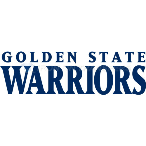 Golden State Warriors Iron-on Stickers (Heat Transfers)NO.1013