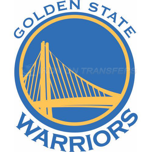 Golden State Warriors Iron-on Stickers (Heat Transfers)NO.1017
