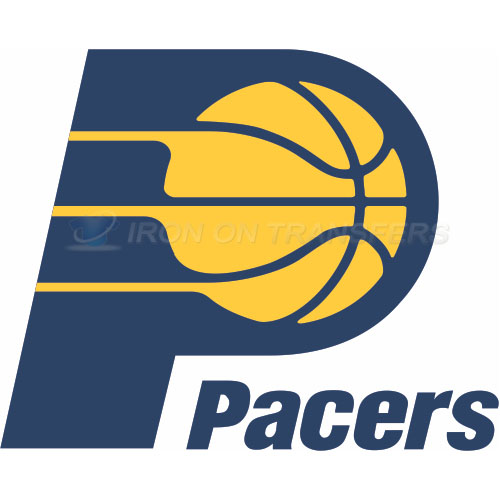 Indiana Pacers Iron-on Stickers (Heat Transfers)NO.1029
