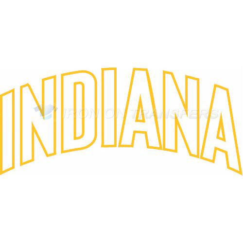Indiana Pacers Iron-on Stickers (Heat Transfers)NO.1031