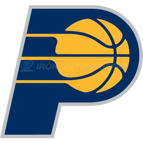 Indiana Pacers Iron-on Stickers (Heat Transfers)NO.1037