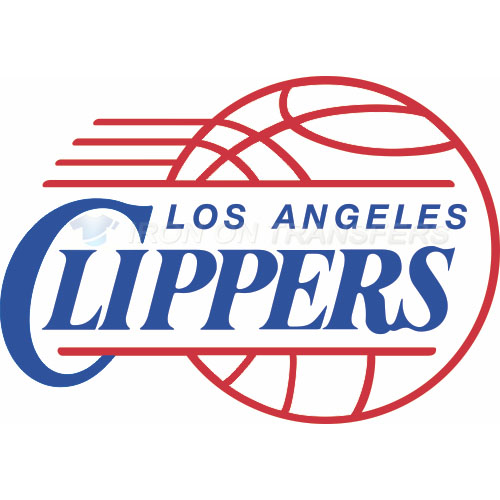 Los Angeles Clippers Iron-on Stickers (Heat Transfers)NO.1039