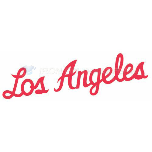 Los Angeles Clippers Iron-on Stickers (Heat Transfers)NO.1040