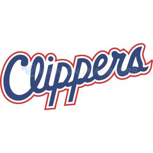 Los Angeles Clippers Iron-on Stickers (Heat Transfers)NO.1041