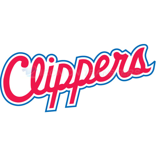 Los Angeles Clippers Iron-on Stickers (Heat Transfers)NO.1042