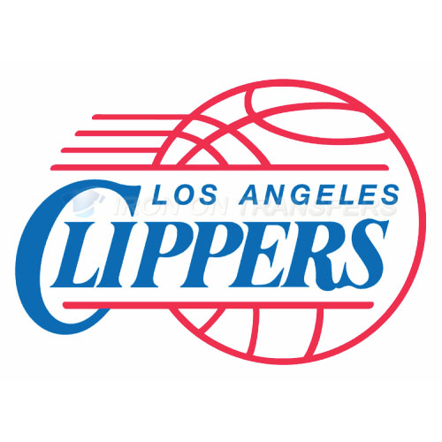 Los Angeles Clippers Iron-on Stickers (Heat Transfers)NO.1043