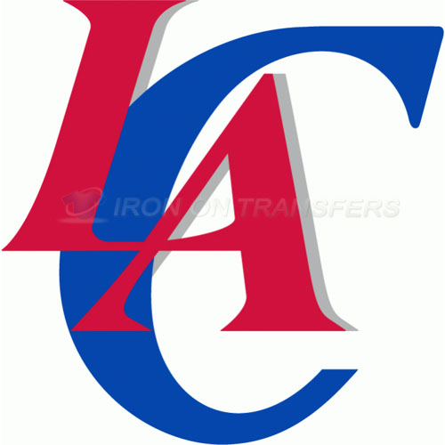 Los Angeles Clippers Iron-on Stickers (Heat Transfers)NO.1044