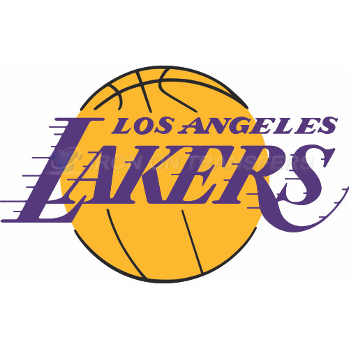 Los Angeles Lakers Iron-on Stickers (Heat Transfers)NO.1046
