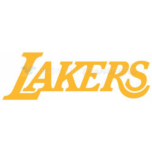 Los Angeles Lakers Iron-on Stickers (Heat Transfers)NO.1047