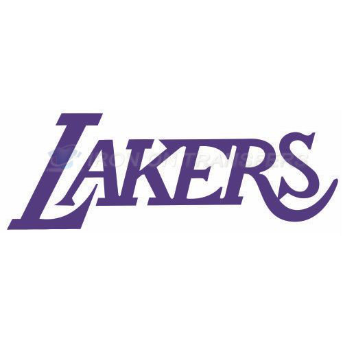 Los Angeles Lakers Iron-on Stickers (Heat Transfers)NO.1048