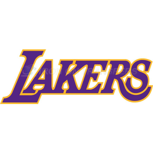 Los Angeles Lakers Iron-on Stickers (Heat Transfers)NO.1049
