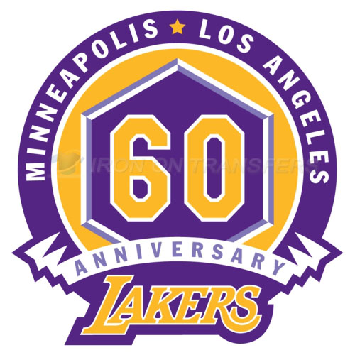 Los Angeles Lakers Iron-on Stickers (Heat Transfers)NO.1051