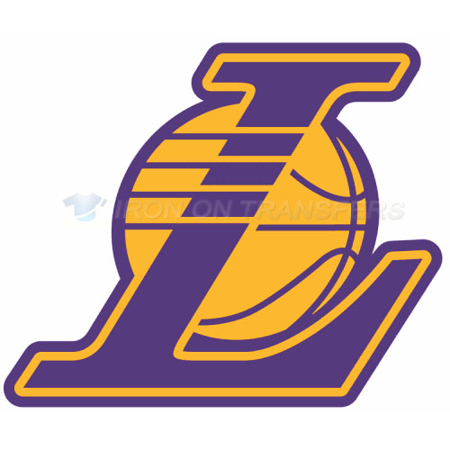Los Angeles Lakers Iron-on Stickers (Heat Transfers)NO.1052