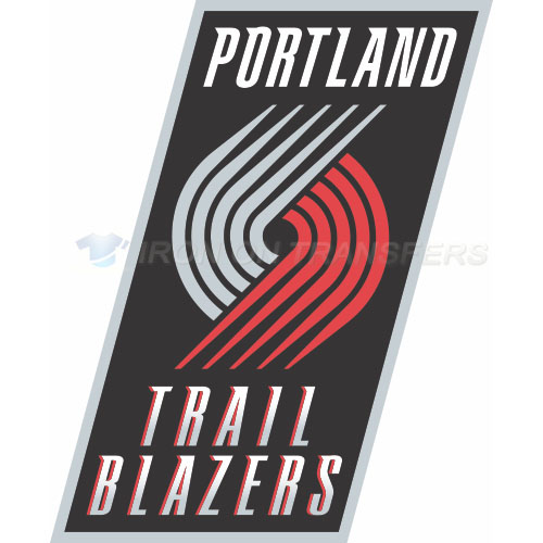 Portland Trail Blazers Iron-on Stickers (Heat Transfers)NO.1167