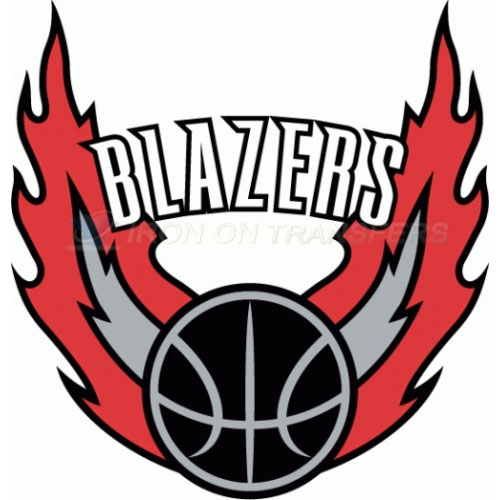 Portland Trail Blazers Iron-on Stickers (Heat Transfers)NO.1173