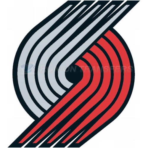 Portland Trail Blazers Iron-on Stickers (Heat Transfers)NO.1174