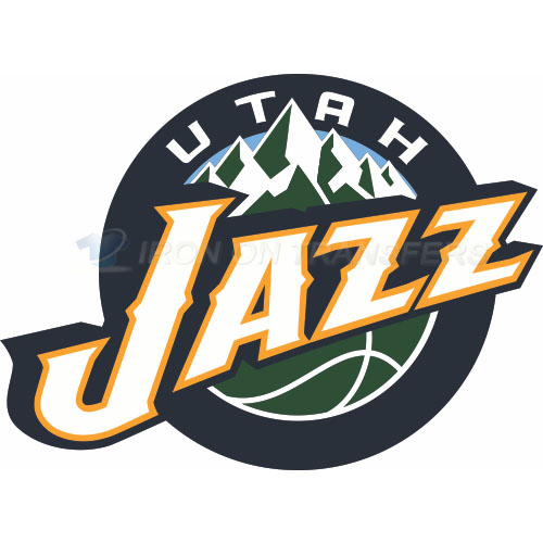 Utah Jazz Iron-on Stickers (Heat Transfers)NO.1211