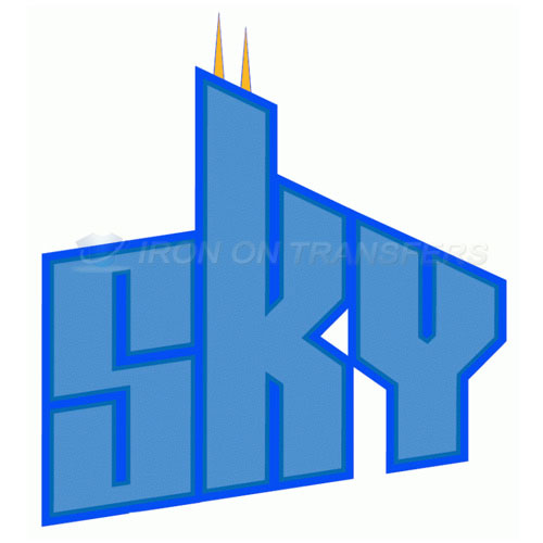 Chicago Sky Iron-on Stickers (Heat Transfers)NO.8545