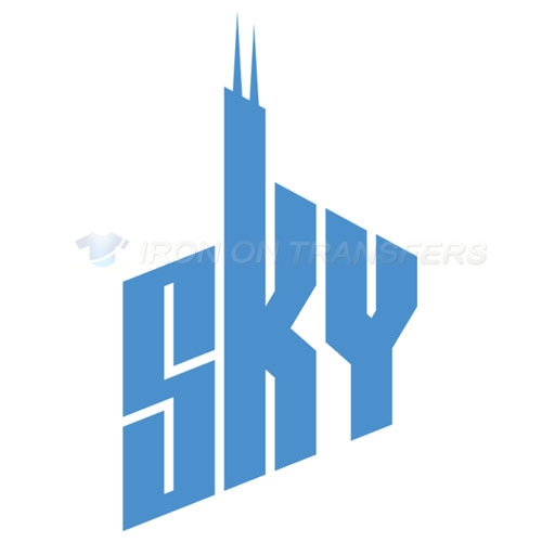 Chicago Sky Iron-on Stickers (Heat Transfers)NO.8546