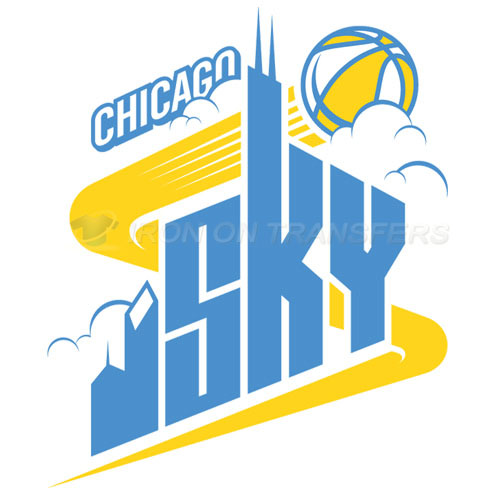 Chicago Sky Iron-on Stickers (Heat Transfers)NO.8548