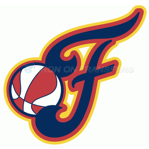 Indiana Fever Iron-on Stickers (Heat Transfers)NO.8558