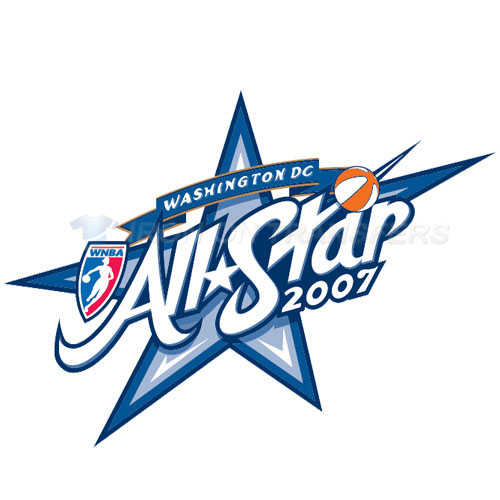 WNBA All Star Game Iron-on Stickers (Heat Transfers)NO.8593