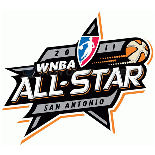 WNBA All Star Game Iron-on Stickers (Heat Transfers)NO.8594