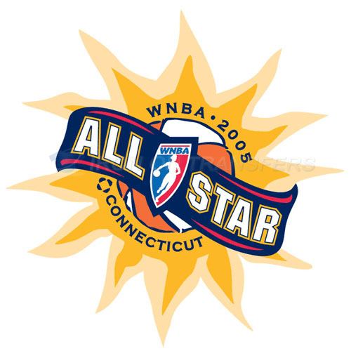 WNBA All Star Game Iron-on Stickers (Heat Transfers)NO.8595