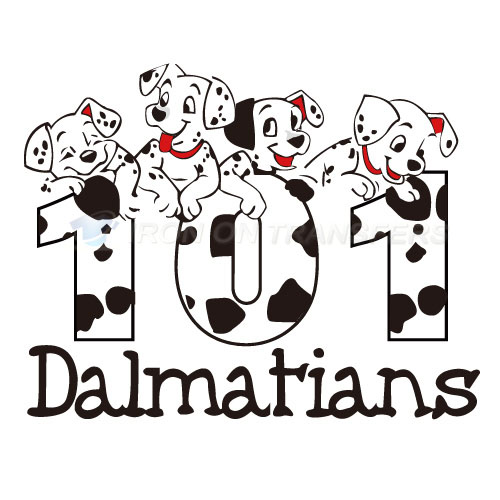101 Dalmatians Iron-on Stickers (Heat Transfers)NO.626